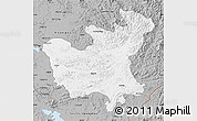 Gray Map of North Hwanghae
