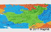 Political Panoramic Map of North Hwanghae