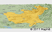 Savanna Style Panoramic Map of North Hwanghae