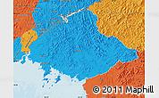 Political Map of North Pyongan
