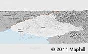 Gray Panoramic Map of North Pyongan