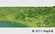 Satellite Panoramic Map of North Pyongan