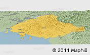 Savanna Style Panoramic Map of North Pyongan