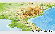 Physical Panoramic Map of North Korea