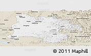 Classic Style Panoramic Map of Pyongyang