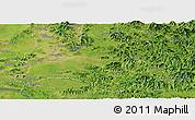 Satellite Panoramic Map of Pyongyang