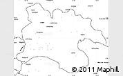 Blank Simple Map of Pyongyang