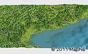Satellite Panoramic Map of South Hamgyong