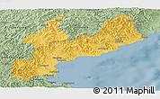 Savanna Style Panoramic Map of South Hamgyong