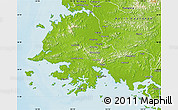 Physical Map of South Hwanghae