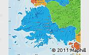 Political Map of South Hwanghae