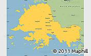 Savanna Style Simple Map of South Hwanghae