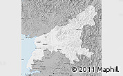 Gray Map of South Pyongan