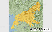 Savanna Style Map of South Pyongan