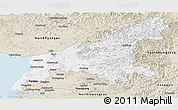 Classic Style Panoramic Map of South Pyongan