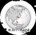 Outline Map of Chollanam-Do