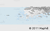 Gray Panoramic Map of Chollanam-Do