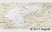 Classic Style Panoramic Map of Chungchongbuk-Do