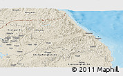Shaded Relief Panoramic Map of Kang-Won-Do