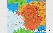 Political Map of Kyonggi-Do