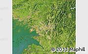 Satellite Map of Kyonggi-Do