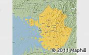 Savanna Style Map of Kyonggi-Do