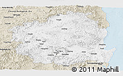 Classic Style Panoramic Map of Kyongsangbuk-Do