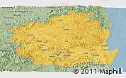 Savanna Style Panoramic Map of Kyongsangbuk-Do