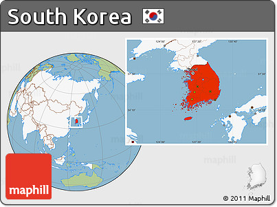 Free savanna style location map of south korea highlighted continent highlighted continent savanna style location map of south korea highlighted continent gumiabroncs Image collections