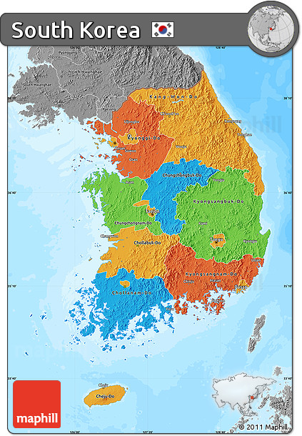 Free Political Map of South Korea, desaturated, land only on map of malaya, map of germany, map of caribbean islands, map of kyushu, map of united states, map of north korea, map of switzerland, map of oman, map of korea and surrounding countries, map of south pacific, map hong kong, map of guam, map of seoul, map of venezuela, map of france, map of asia, map of south korean cities and towns, map of korean peninsula, map of iceland, map of philippines,