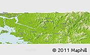 Physical Panoramic Map of Seoul