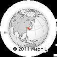 Outline Map of Taejon