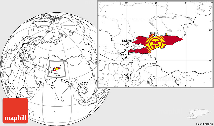 Flag location map of kyrgyzstan blank outside gumiabroncs Choice Image