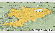 Savanna Style Map of Kyrgyzstan