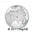 Outline Map of Osh