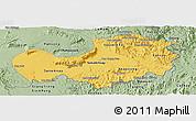 Savanna Style Panoramic Map of Attopu