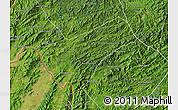 Satellite Map of Houay Xay