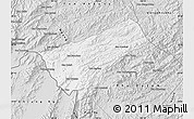 Silver Style Map of Houay Xay