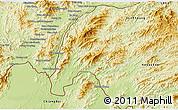 Physical 3D Map of Meung