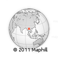 Outline Map of Meung