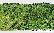 Satellite Panoramic Map of Bokeo
