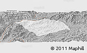 Gray Panoramic Map of Ton Pheung