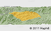 Savanna Style Panoramic Map of Ton Pheung