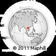 Outline Map of Bolikhamsai