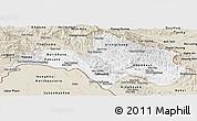 Classic Style Panoramic Map of Bolikhamsai