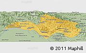 Savanna Style Panoramic Map of Bolikhamsai