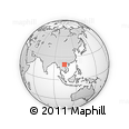 Outline Map of Houaphanh