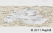 Classic Style Panoramic Map of Houaphanh
