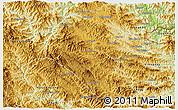 Physical 3D Map of Samneua