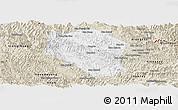 Classic Style Panoramic Map of Samneua